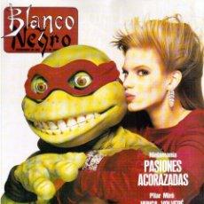 Coleccionismo de Revista Blanco y Negro: 1991. EN CASA DE ROCÍO JURADO. ANA OBREGÓN. JOAN CHEN. MARTA TESTOR. ALASKA. SARA MONTIEL. VER.. Lote 134739186