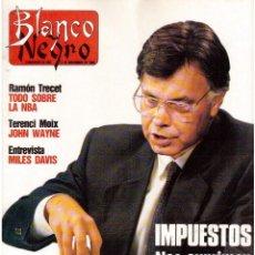 Coleccionismo de Revista Blanco y Negro: 1989. SILVIA MARSÓ. BROOKE SHIELDS. POLI DÍAZ. MILES DAVIS. ALASKA Y LA OTI. . Lote 134801082