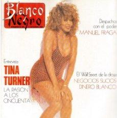 Coleccionismo de Revista Blanco y Negro: 1989. PAULINA PORIZKOVA. CYRA TOLEDO. MIRTA MILLER. ASSUMPTA SERNA EN TVE. VER SUMARIO.. Lote 134958482