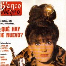 Coleccionismo de Revista Blanco y Negro: 1989. SABRINA. NORMA DUVAL. LOLA DE PÁRAMO. THE WHO. ALASKA. VER SUMARIO.. Lote 134959558