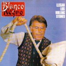 Coleccionismo de Revista Blanco y Negro: 1990. LLEGAN LOS ROLLING STONES. ANGELA MOLINA. NINA. LYDIA BOSCH. SILVIA MARSÓ. . Lote 135002638