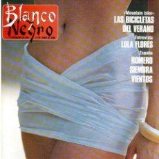 Coleccionismo de Revista Blanco y Negro: 1990. BEATRICE DALLE. ANA OBREGÓN. FERNANDO FERNANDEZ-TAPIAS. LOLA FLORES. ASSUMPTA SERNA. . Lote 135054858