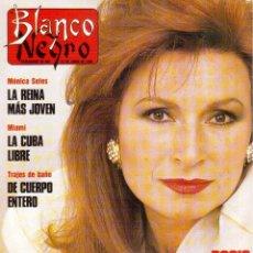 Coleccionismo de Revista Blanco y Negro: 1990. ROCÍO JURADO. PALOMA LAGO. SARA MONTIEL. ROLLING STONES. VER SUMARIO.. Lote 135056714