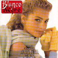 Coleccionismo de Revista Blanco y Negro: 1988. JULIO IGLESIAS. MECANO -A LA CONQUISTA DE AUSTRALIA-. MIGUEL BOSÉ. LIZA MINNELLI VINCENT. VER.. Lote 135308182