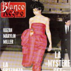 Coleccionismo de Revista Blanco y Negro: 1988. MARILYN MONROE (REPORTAJE 10 PÁGINAS). BEATRICE DALLE. CARMEN MORALES. VER SUMARIO.. Lote 135411586