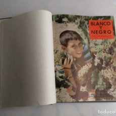 Coleccionismo de Revista Blanco y Negro: BLANCO Y NEGRO AÑO 1959 , TOMO CON Nº 2471, 2472, 2473, 2475, 2476, 2477, 2478,. Lote 135423130