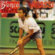 Coleccionismo de Revista Blanco y Negro: 1989. NURIA MORENO ESPERT. PAULA MARTEL. NACHA POP. PALOMA O'SHEA. VER SUMARIO.. Lote 135457194