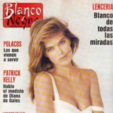 Coleccionismo de Revista Blanco y Negro: 1989. LOS RAMONES. ALASKA. CONCHA VELASCO. JOHAN CRUYFF. KETAMA. MERCHE ESMERALDA. OUKA LELE. . Lote 135644747