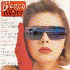 Coleccionismo de Revista Blanco y Negro: 1989. CARMEN LINARES. CARMEN MAURA. MADONNA. TERESA BERGANZA. ALASKA ENTREVISTA DE ANA DIOSDADO. VER. Lote 135670279