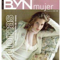 Coleccionismo de Revista Blanco y Negro: 2000. LUCÍA ETXEBARRÍA. LOS FESTIVALES QUE VIENEN. VER SUMARIO.. Lote 136512906
