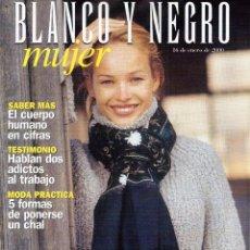 Coleccionismo de Revista Blanco y Negro: 2000. LIBERTO RABAL. JUANA DE ARCO. VER SUMARIO.. Lote 136543806