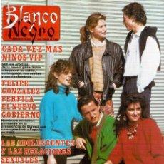 Coleccionismo de Revista Blanco y Negro: 1988. ROCÍO JURADO. JOSÉ MARÍA PASCUAL. ANA DIOSDADO. IMANOL ARIAS. NORMA DUVAL. VER SUMARIO.. Lote 136554410