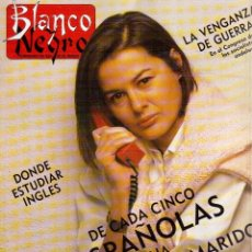 Coleccionismo de Revista Blanco y Negro: 1988. ALASKA: RAPHAEL ES LO MÁS. ANA OBREGÓN. CECILE ELUARD. FRANCISCO NIEVA. LYDIA BOSCH. VER.. Lote 136564774