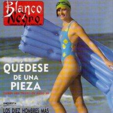 Coleccionismo de Revista Blanco y Negro: 1988. CHARO LÓPEZ. DUNCAN DHU. PALOMA SAN BASILIO. NACHO CANO. MIGUEL BOSÉ. LOS HOMBRES G. VER.. Lote 136569526