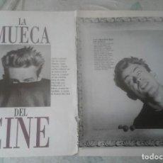 Coleccionismo de Revista Blanco y Negro: LA MUECA DEL CINE: BRANDO, SIMMONS, MITCHUM, MONROE, DEAN (BLANCO Y NEGRO 1995). Lote 137470910
