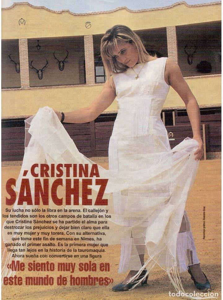 Coleccionismo de Revista Blanco y Negro: 1996. CRISTINA SÁNCHEZ. BLANCA SUELVES.FABIO CAPELLO.MÓNICA BELLUCI. VER SUMARIO... - Foto 22 - 120186975