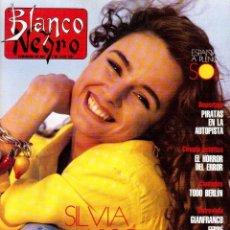 Coleccionismo de Revista Blanco y Negro: 1991. SILVIA MARSÓ. ALICIA MORO. MIGUEL BOSÉ. CARMEN MORALES. GIANFRANCO FERRÉ. MARTA SÁNCHEZ. VER. Lote 137880406