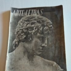 Coleccionismo de Revista Blanco y Negro: REVISTA ARTES Y LETRAS AÑO2 N.19 1 DE MAYO DE 1944. Lote 138863269