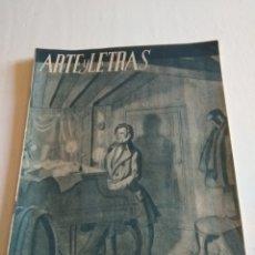 Coleccionismo de Revista Blanco y Negro: REVISTA ARTE Y LETRAS AÑO 2 N.18 15 DE ABRIL DE 1944. Lote 138863636