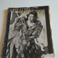 Coleccionismo de Revista Blanco y Negro: REVISTA ARTES Y LETRAS AÑO 2 N.15 1 DE MARZO 1944. Lote 138863909