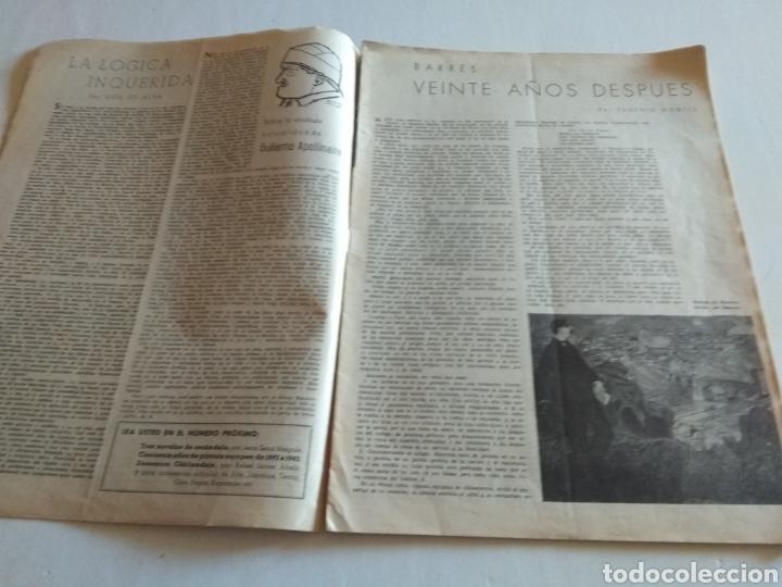 Coleccionismo de Revista Blanco y Negro: REVISTA ARTE Y LETRAS AÑO 2 n.14 5 DE FEBRERO DE 1944 - Foto 2 - 138864229