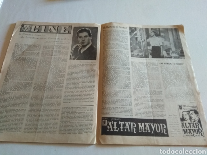 Coleccionismo de Revista Blanco y Negro: REVISTA ARTE Y LETRAS AÑO 2 n.14 5 DE FEBRERO DE 1944 - Foto 3 - 138864229