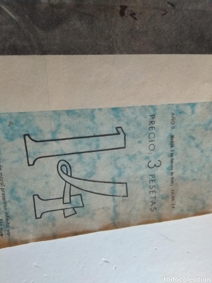 Coleccionismo de Revista Blanco y Negro: REVISTA ARTE Y LETRAS AÑO 2 n.14 5 DE FEBRERO DE 1944 - Foto 5 - 138864229
