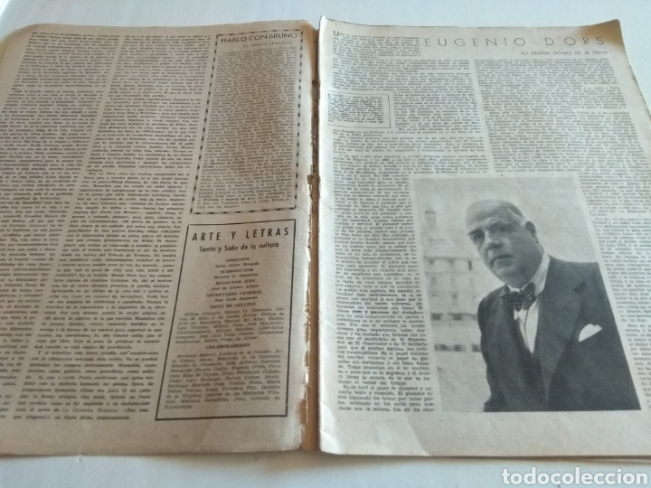 Coleccionismo de Revista Blanco y Negro: REVISTA ARTES Y LETRAS AÑO 1 N.13 15 DE OCTUBRE DE 1943 - Foto 3 - 138864941