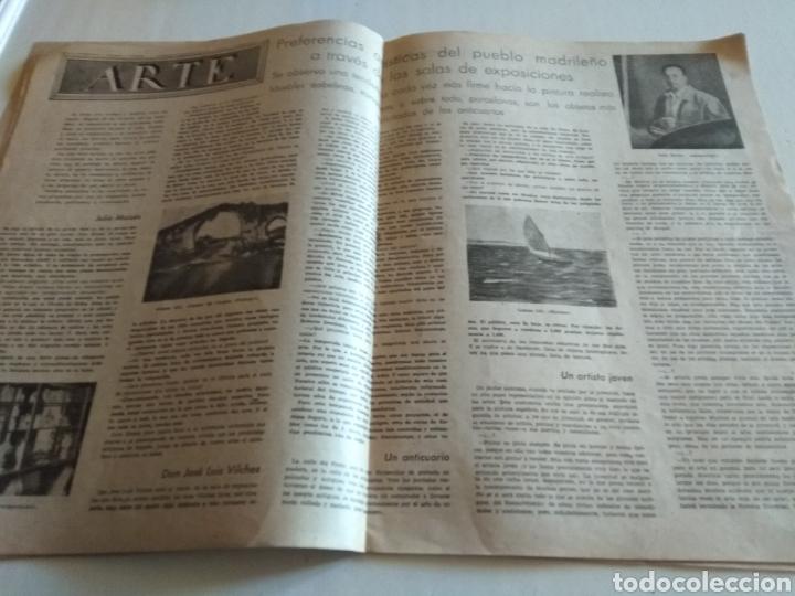 Coleccionismo de Revista Blanco y Negro: REVISTA ARTES Y LETRAS AÑO 1 N.13 15 DE OCTUBRE DE 1943 - Foto 4 - 138864941