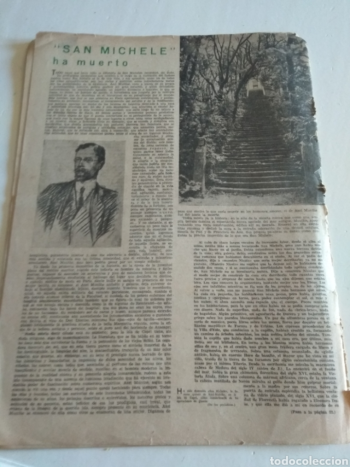 Coleccionismo de Revista Blanco y Negro: REVISTA ARTES Y LETRAS AÑO 1 N.13 15 DE OCTUBRE DE 1943 - Foto 5 - 138864941