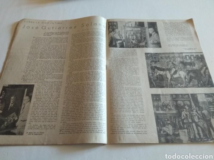 Coleccionismo de Revista Blanco y Negro: REVISTA ARTE Y LETRAS AÑO 1 N.10 15 DE AGOSTO DE 1943 - Foto 4 - 138865781