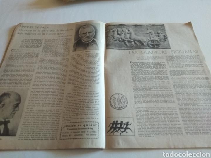 Coleccionismo de Revista Blanco y Negro: REVISTA ARTE Y LETRAS AÑO 1 N.10 15 DE AGOSTO DE 1943 - Foto 5 - 138865781