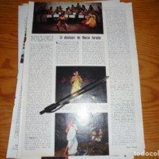 Collectionnisme de Magazine Blanco y Negro: RECORTE PRENSA : EL DESTAPE DE ROCIO JURADO. BLANCO NEGRO, JULIO 1975. Lote 138880374