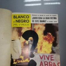 Coleccionismo de Revista Blanco y Negro: 8 REVISTA BLANCO Y NEGRO ENCUADERNADAS AÑO 1961. Lote 139199494