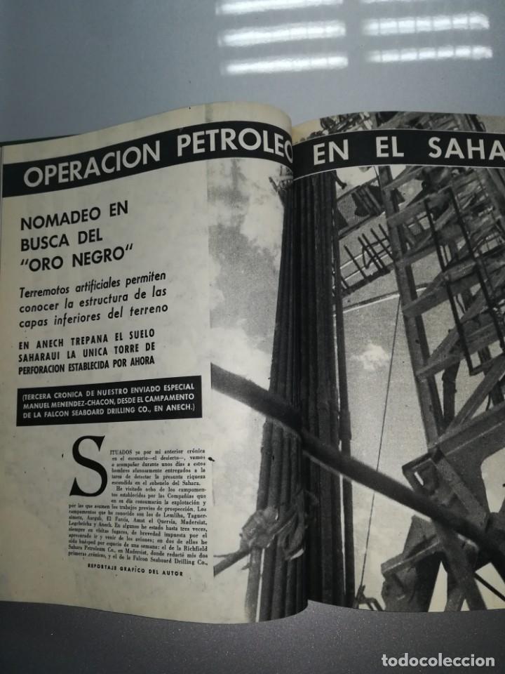 Coleccionismo de Revista Blanco y Negro: 8 revista blanco y negro encuadernadas año 1961 - Foto 8 - 139199494