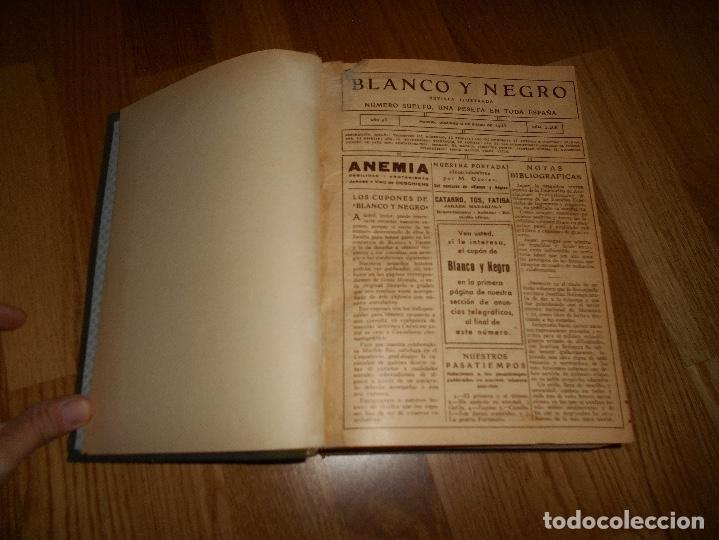 Coleccionismo de Revista Blanco y Negro: TOMO ENCUADERNADO DEL PERIODICO ABC BLANCO Y NEGRO AÑO 1935 I - Foto 2 - 139226914