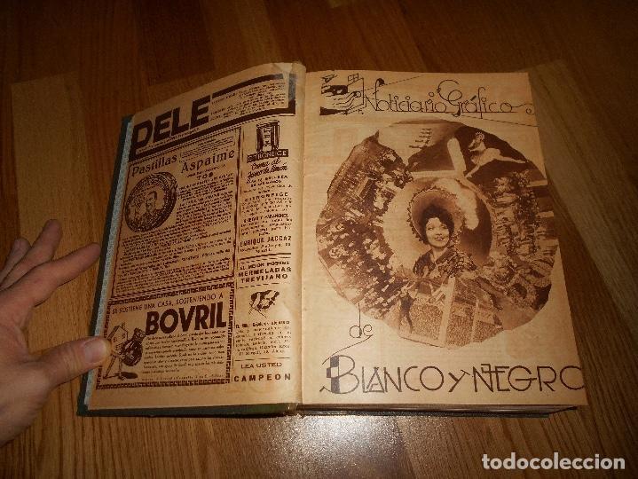 Coleccionismo de Revista Blanco y Negro: TOMO ENCUADERNADO DEL PERIODICO ABC BLANCO Y NEGRO AÑO 1935 I - Foto 3 - 139226914