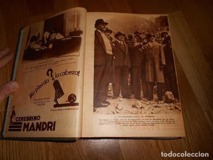 Coleccionismo de Revista Blanco y Negro: TOMO ENCUADERNADO DEL PERIODICO ABC BLANCO Y NEGRO AÑO 1935 I - Foto 6 - 139226914