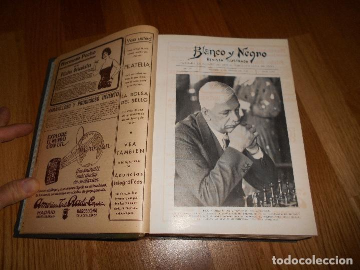 Coleccionismo de Revista Blanco y Negro: TOMO ENCUADERNADO DEL PERIODICO ABC BLANCO Y NEGRO AÑO 1935 I - Foto 10 - 139226914
