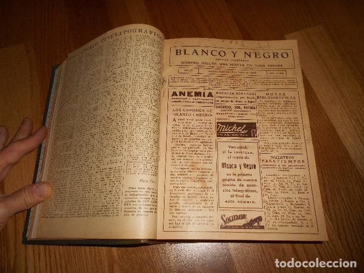 Coleccionismo de Revista Blanco y Negro: TOMO ENCUADERNADO DEL PERIODICO ABC BLANCO Y NEGRO AÑO 1935 I - Foto 12 - 139226914