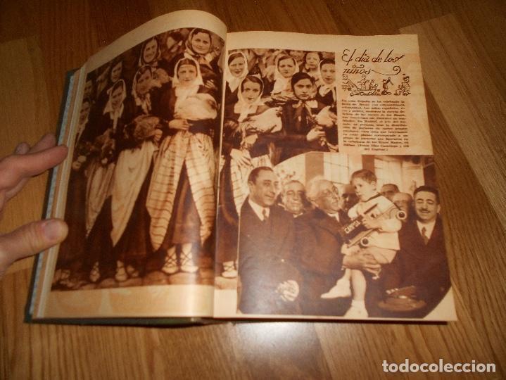 Coleccionismo de Revista Blanco y Negro: TOMO ENCUADERNADO DEL PERIODICO ABC BLANCO Y NEGRO AÑO 1935 I - Foto 13 - 139226914