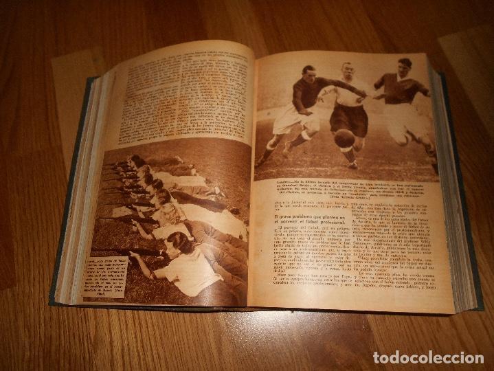 Coleccionismo de Revista Blanco y Negro: TOMO ENCUADERNADO DEL PERIODICO ABC BLANCO Y NEGRO AÑO 1935 I - Foto 19 - 139226914