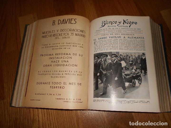 Coleccionismo de Revista Blanco y Negro: TOMO ENCUADERNADO DEL PERIODICO ABC BLANCO Y NEGRO AÑO 1935 I - Foto 20 - 139226914