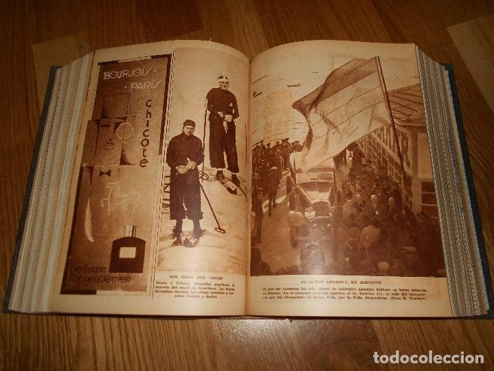 Coleccionismo de Revista Blanco y Negro: TOMO ENCUADERNADO DEL PERIODICO ABC BLANCO Y NEGRO AÑO 1935 I - Foto 21 - 139226914