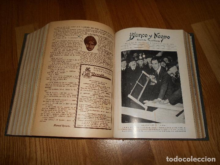 Coleccionismo de Revista Blanco y Negro: TOMO ENCUADERNADO DEL PERIODICO ABC BLANCO Y NEGRO AÑO 1935 I - Foto 23 - 139226914