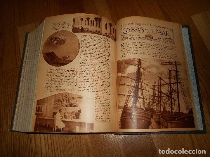 Coleccionismo de Revista Blanco y Negro: TOMO ENCUADERNADO DEL PERIODICO ABC BLANCO Y NEGRO AÑO 1935 I - Foto 25 - 139226914