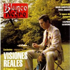 Coleccionismo de Revista Blanco y Negro: 1991. PRINCIPE DE GALES. MARK KNOPFLER. MADONNA. ISABEL RUIZ DE LA PRADA. VER SUMARIO. . Lote 139680322