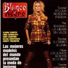 Coleccionismo de Revista Blanco y Negro: 1991. ROSA VALENTY. CARMEN CASADELLAS. DUNCAN DHU. ISABELLE ADJANI. MARILYN MONROE. VER SUMARIO.. Lote 139680642