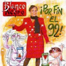 Coleccionismo de Revista Blanco y Negro: 1991. ANA OBREGÓN. REMEDIOS CERVANTES. PAOLA DOMINGUÍN. NATALIA ESTRADA. YOLANDA GIL. INES SASTRE. . Lote 139825390