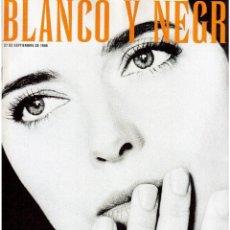 Coleccionismo de Revista Blanco y Negro: 1998. ISABELLA ROSELLINI. DAVID SUMMERS (HOMBRES G). LUCÍA JIMÉNEZ. JOSÉ MARÍA FLOTATS. VER SUMARIO.. Lote 140045874